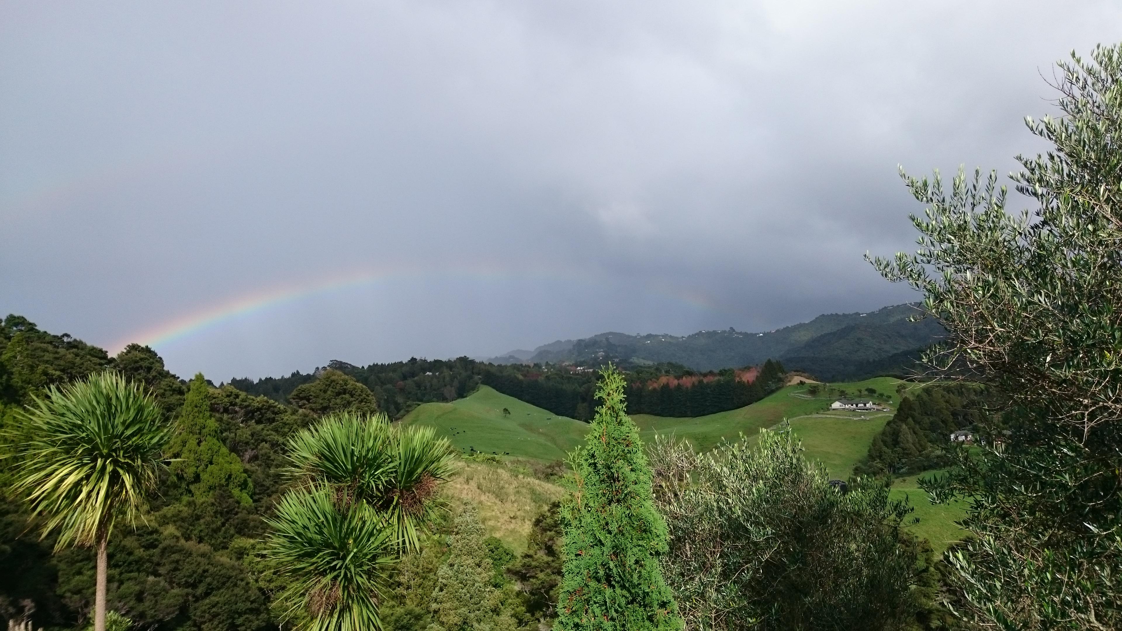 Rainbow ニュージーランドの虹